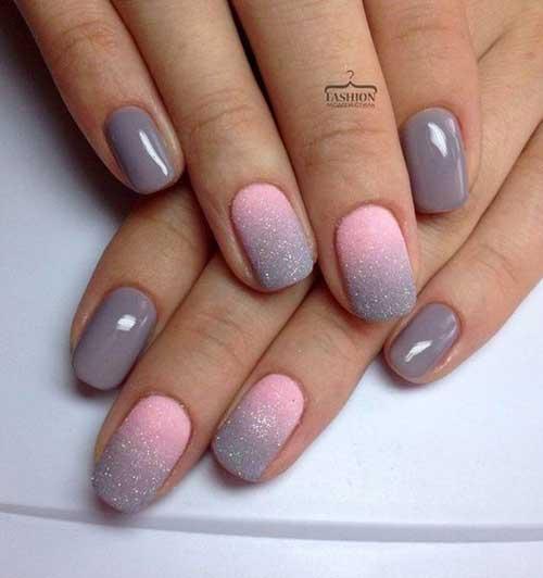 Ombre Colored Nail Designs-7