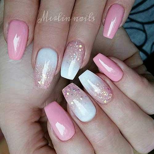 Ombre Colored Nail Designs-8