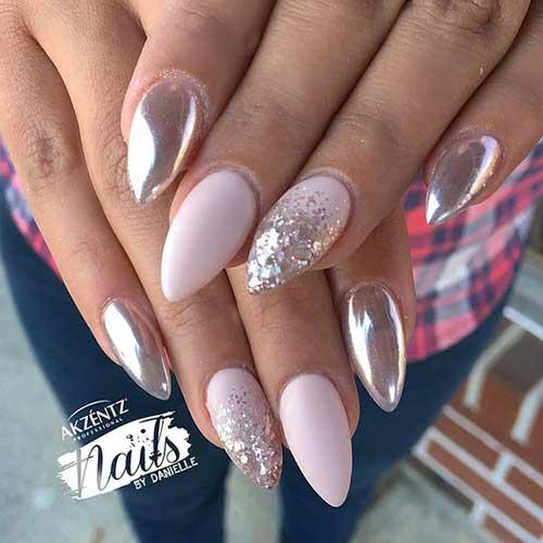 Almond Shape Nails