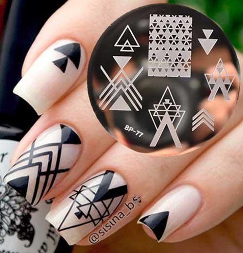 Geometric Nail Styles