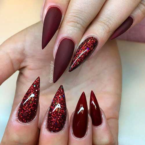 Stiletto Nail Styles