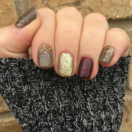 Fall Season Nail Designs-13