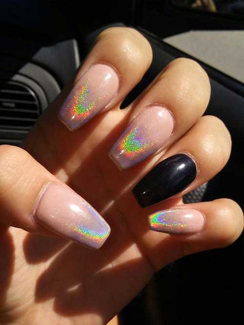 Holographic Nail Designs-13