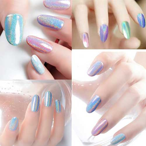 Holographic Nail Designs-18