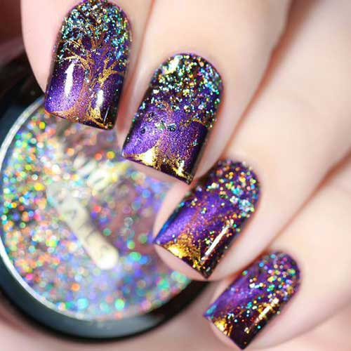Fall Season Nail Designs-7