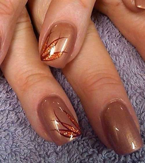 Fall Season Nail Designs-9
