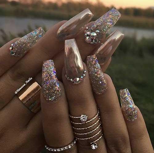 Golden Nail Designs