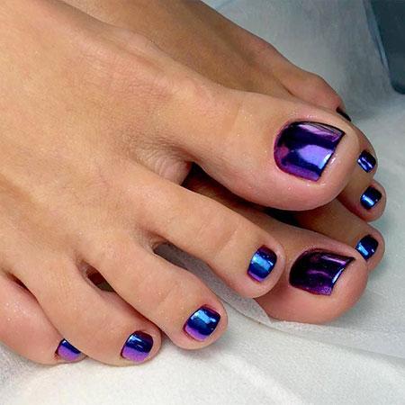 Toe Nail Art, Nail, Art, 207, Toe, Summer, Shellac, Manicure