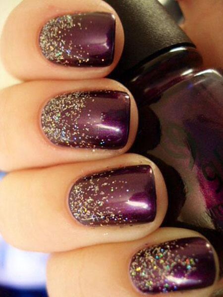 Purple Nail, Nail, Polish, Fall, Zoya, Winter, Swatch, Purple