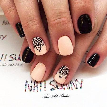 Short Nail, Nail, Manicure, Art, Short, Season, Home, Fall