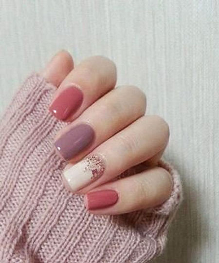 Nail Art Ideas for Fall, Nail, Pink, Girls, Fall, Essie, Design