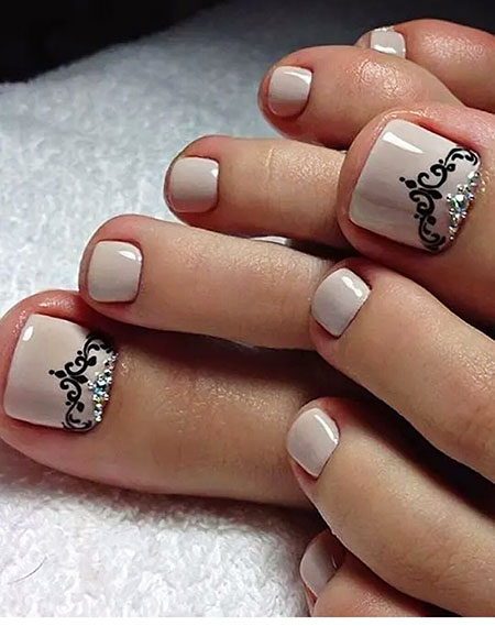 Nail Art Ideas for Toes, Nail, Manicure, Design, Art
