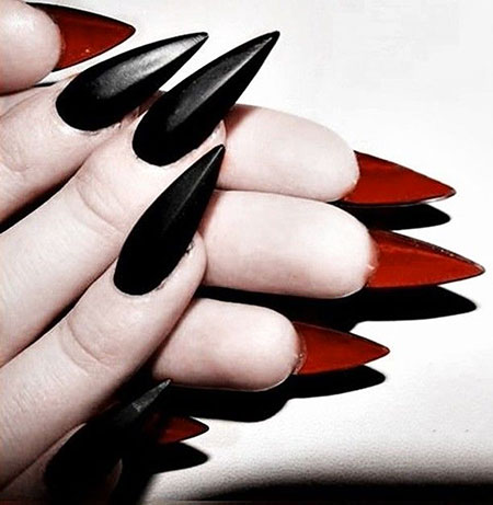 Gothic Nail, Nail, Shoes, Heels, Stiletto, Rock, Pointy, Loafers