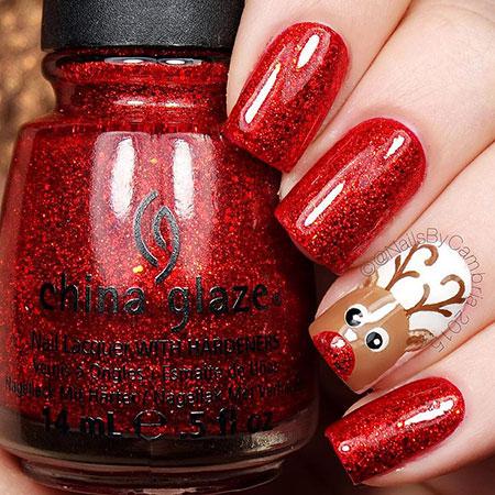 Winter Nail, Nail, Christmas, Polish, Zoya, Xmas, Winter
