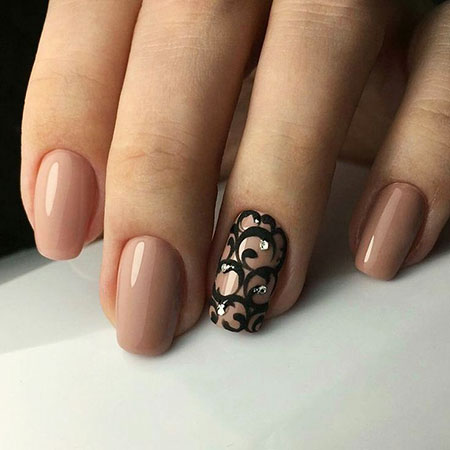Easy Nail, Nail, Short, Design, Manicure, Easy