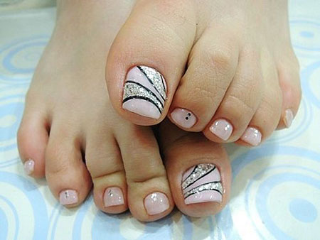 Nail Art Ideas for Toes, Nail, Toe, Toes, Toenail, Pedicures