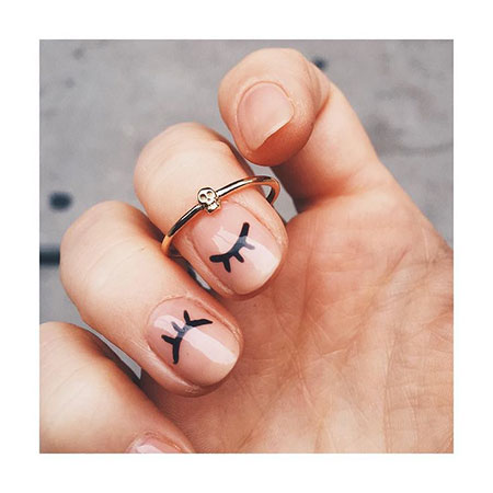Easy Nail Art, Nail, Skull, Ring, Art, Girls, Easy, Design, Charm