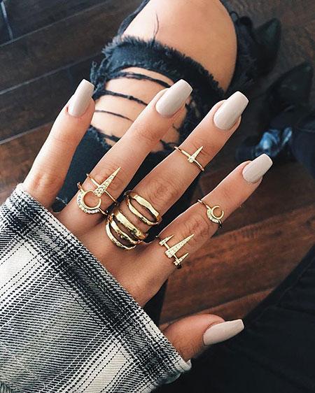 Nails 207, Nail, Ring, Rings, Gold, Fall, Design, Dainty, Art