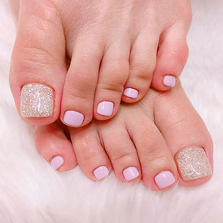 Toe Nail Color Ideas, Nail, Toe, Pretty, Pastel, Design, Art