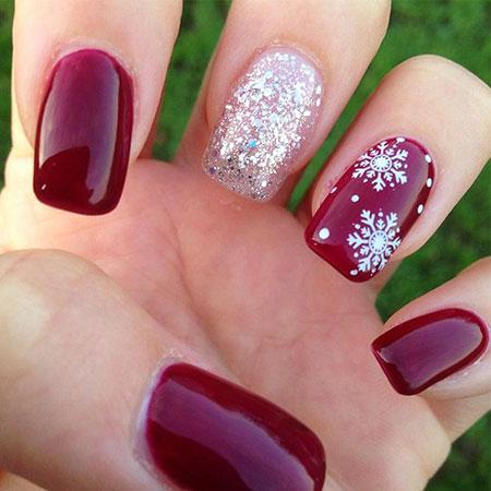 Fun Nail, Nail, Winter, Glitter, Christmas, Season, Polish