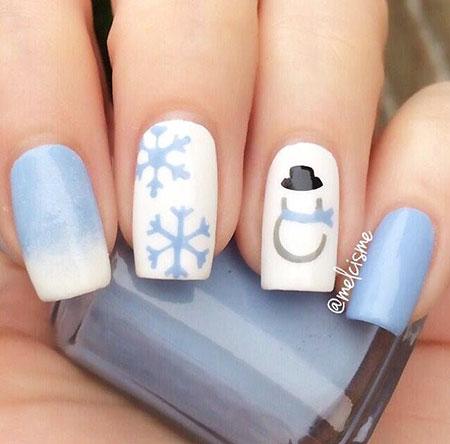 Snow Nail Art, Nail, Winter, Paper, Art, Planes, Design, Airplanes