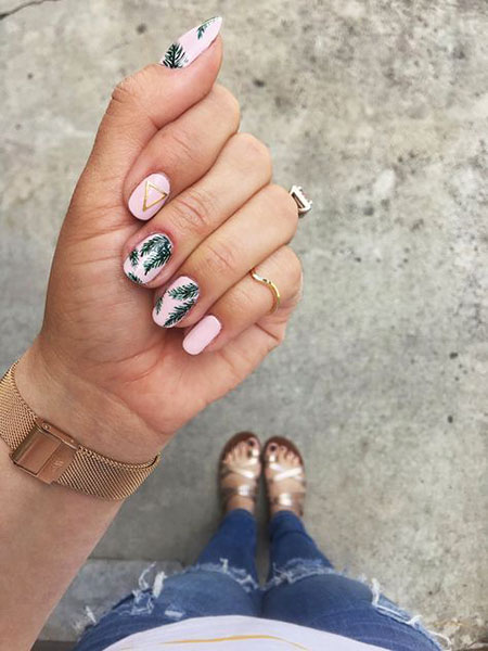 Summer Nails, Nail, Summer, Art, Long, Little, Jamberry, Design