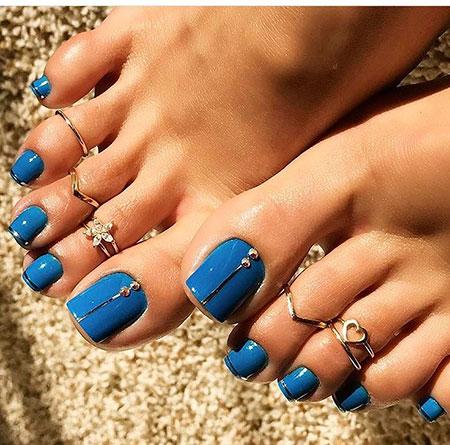 Spring Toe Nail, Nail, Art, Toes, Toe, Summer, Spring