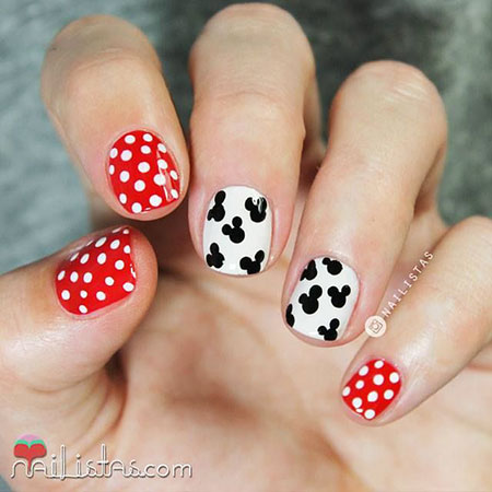Mickey Mouse Nail, Nail, Mouse, Minnie, Disney