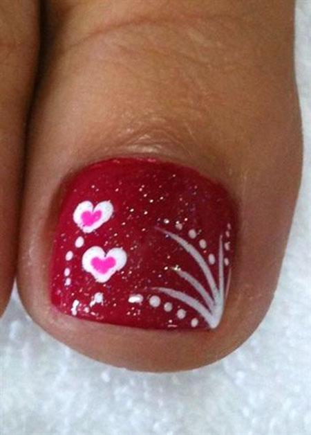 Valentine Nail, Valentines, Valentine, Toes, Toe, Season