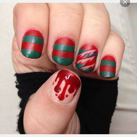 Halloween Nail, Nail, Christmas, Art, Halloween, Short, July