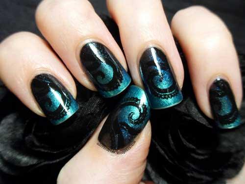 Steampunk Nail Arts