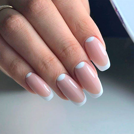 White Manicure Best Beautiful