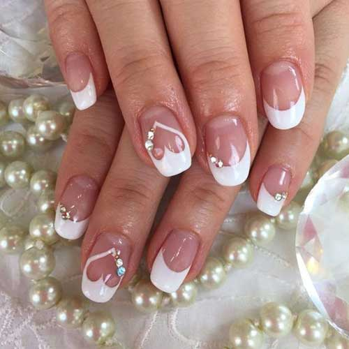 2018 Wedding Nail Designs-12
