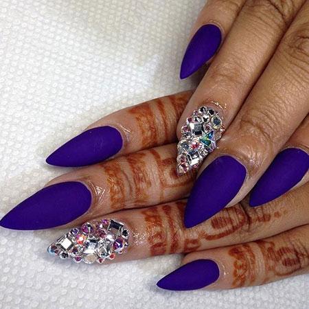 Purple Stiletto Hard Trend