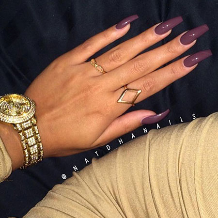 Color Manicure Ring Dark