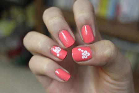 Manicure But Week Girl