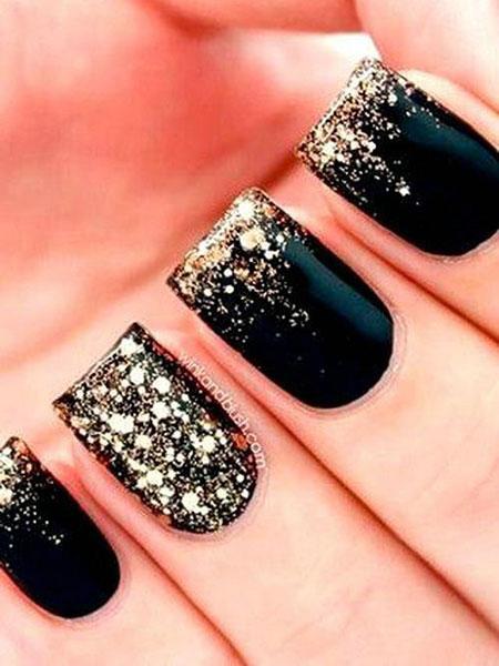 Black Gold Glitter 2018