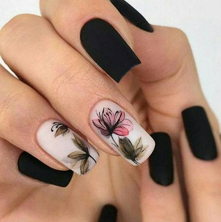 Ideas Black Tattoo Floral