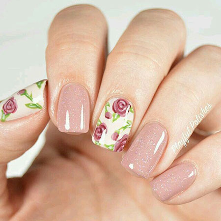 Manicure Rose Decals Disney