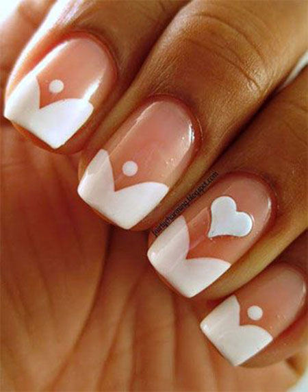 Manicure Simple Wedding Day