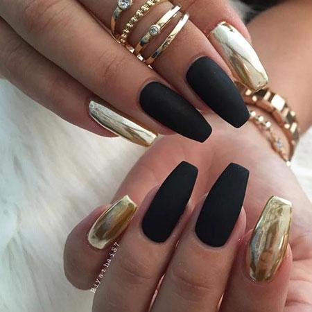 Matte Gold Black Two