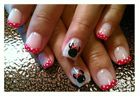 Disney Gel Dot Polka