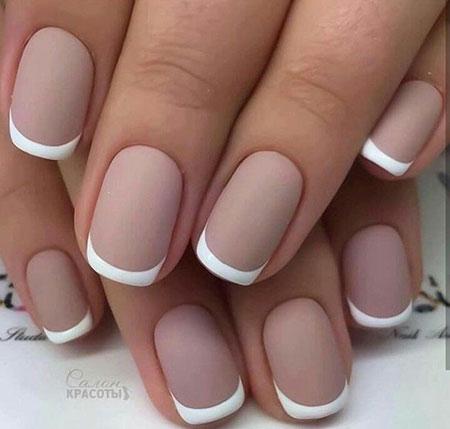 Nude Color Elegant Nail Design, Manicure Bridal Best Elegant