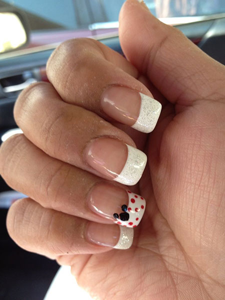 Manicure Mickey Disney French
