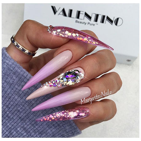 Long Stiletto Nail Design, Nails Stiletto Nail Long