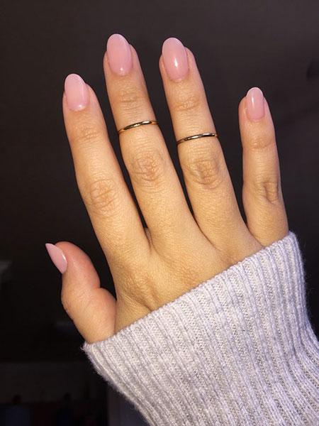 Short Oval Nail, Nails Short Acrylic Nude