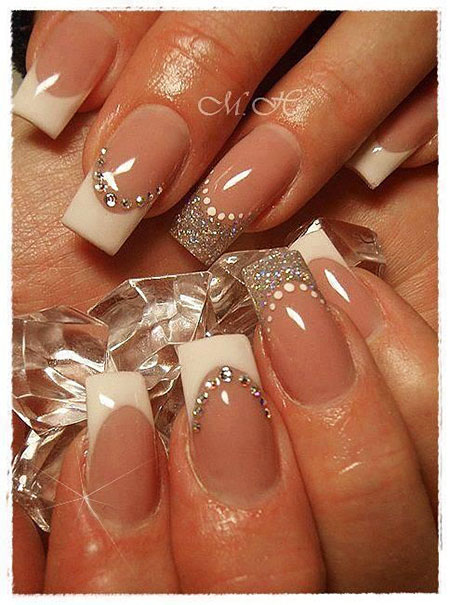 11 Wedding French Manicure Designs 183 Nail Art Designs 2020,Minecraft Farm Design