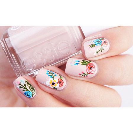 Nail Nails Art Floweral