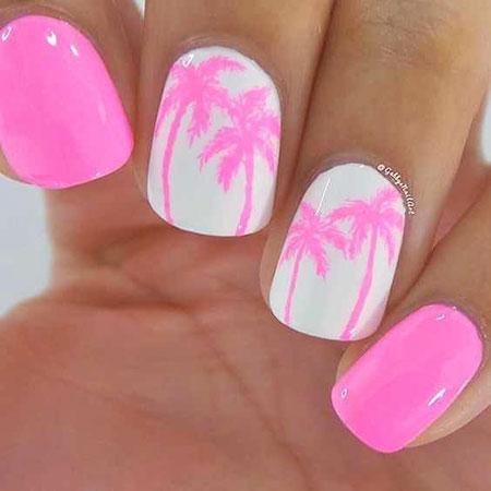 Nail Summer Designs Pink