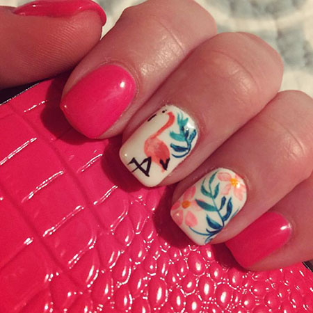 Nail Manicure Pink Designs